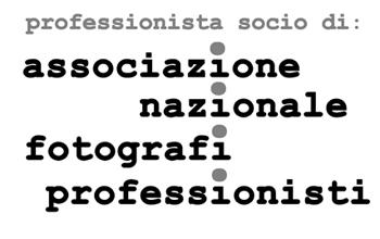 Professionista socio di Associazione Nazionale Fotografi Professionisti