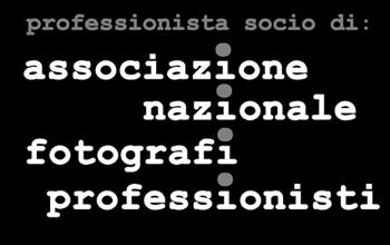 Professionista associato ad Associazione Nazionale Fotografi Professionisti TAU Visual